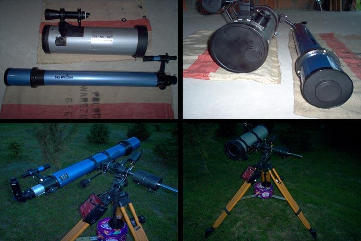 Astronoce.pl testy sprzętu astronomicznego